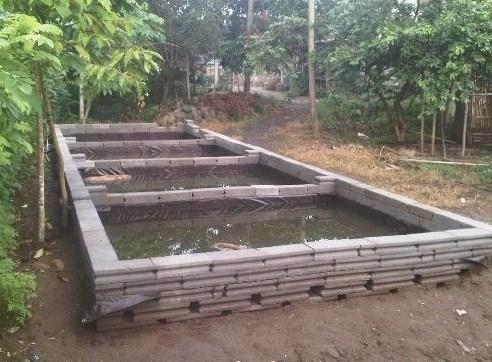 Menyesuaikan Konstruksi Kolam